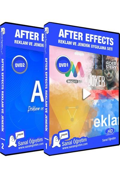 Sanal Öğretim After Effects Reklam Jenerik Video Öğretim Seti