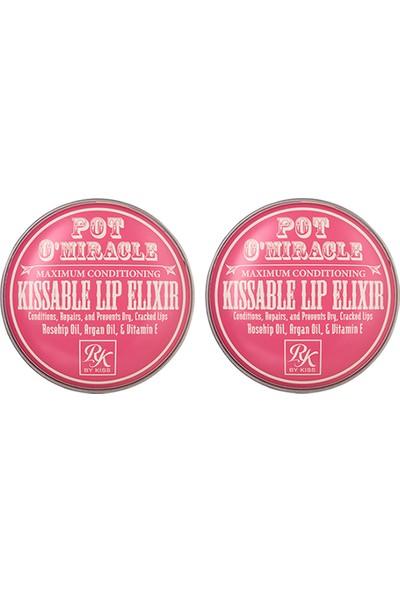 Ruby Kisses Dudak Nemlenidirici - Kuşburnu Yağı & Gül -10 gr 2'li