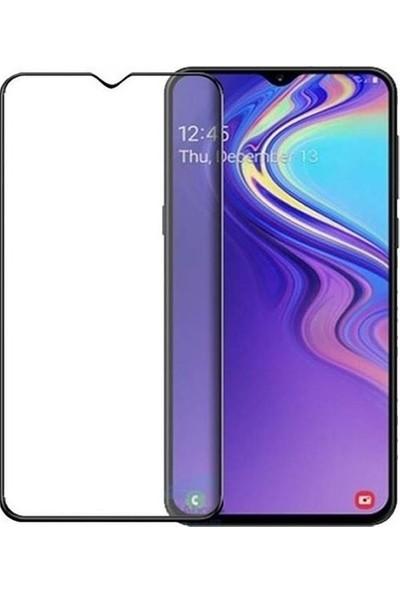 Telbor Samsung Galaxy M20 Tam Kaplayan Ekran Koruyucu Cam