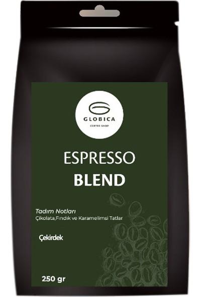 Globica Espresso Blend Kahve 250 gr - Çekirdek