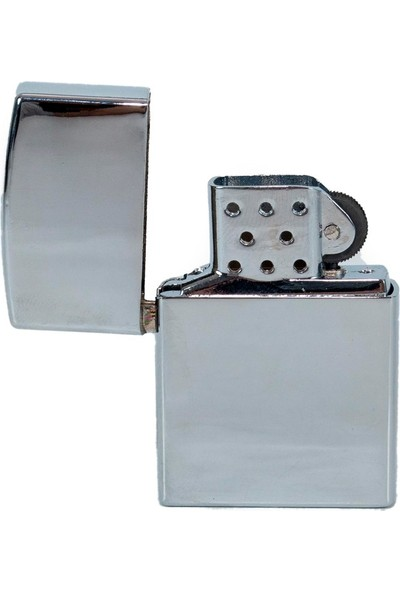 Als Tobacco Gazlı Metal Çakmak Zippo Model