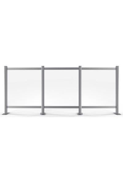 Ores Sosyal Mesafe Bariyeri Üçlü 85 x 120 cm