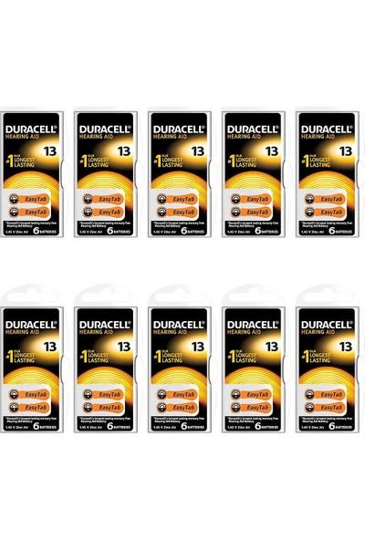 Duracell Işitme Cihazı Pili 13 Numara 60'lı