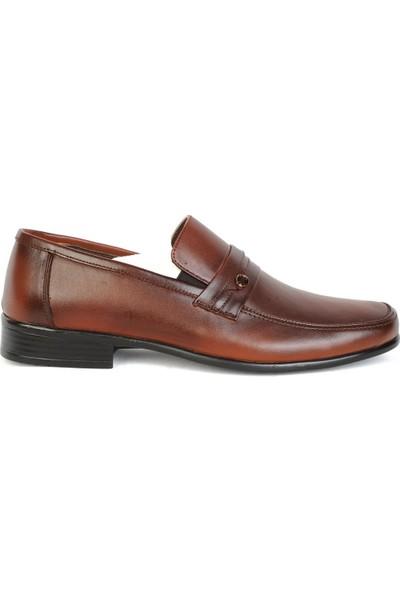 Balayk 1161 Taba Deri Günlük Erkek Klasik Ayakkabı