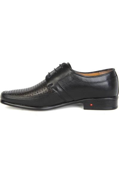 Balayk 1162 Siyah Deri Günlük Erkek Klasik Ayakkabı