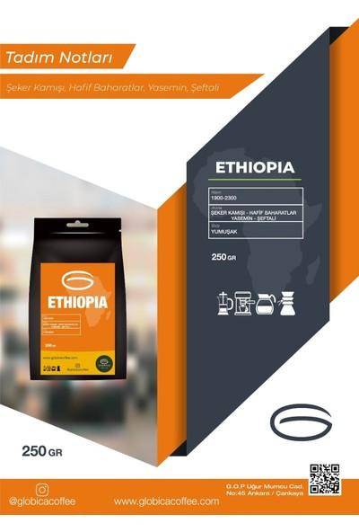 Globica Ethiopia Etiyopya Filtre Kahve 250 gr - Moka Pot