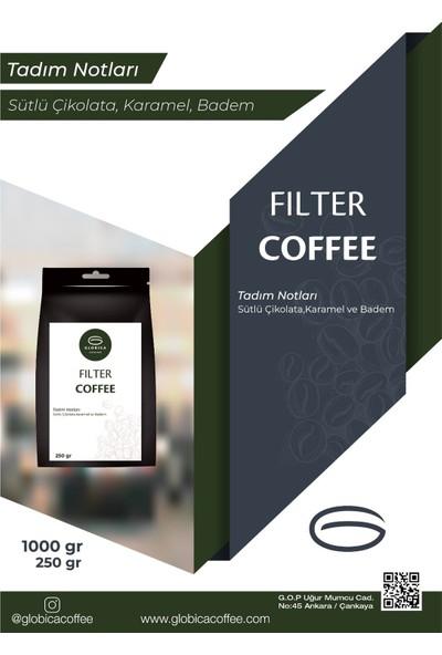 Globica Filtre Kahve 1 Kg - Çekirdek