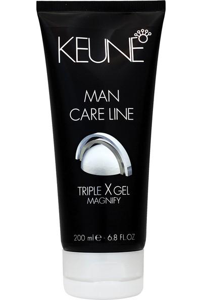 Keune Man Care Line Triple x Güçlü Jöle 200 ml