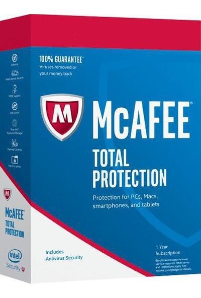 Mcafee Total Protection 2020 Antivirüs 1 Kullanıcı 5 Yıl Dijital Lisans