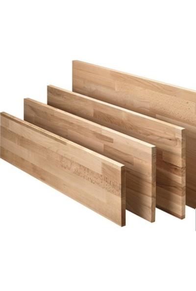 Woodlife Kayın Ahşap Plaka Masif Panel 90 x 180 x 3 cm