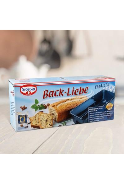 Fackelmann Dr.oetker 2368 Back Liebe Emaille Baton Kek Kalıbı 30 cm