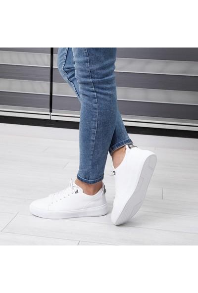 Conteyner Beyaz Erkek Günlük Ayakkabı