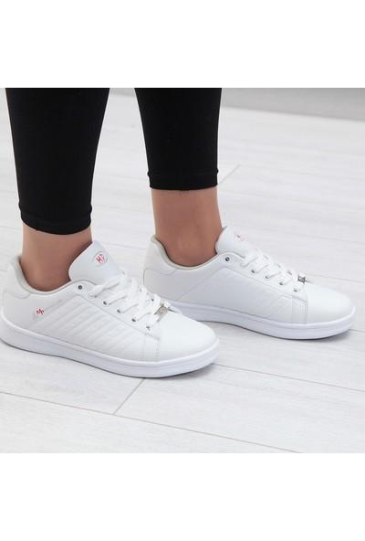 M.P Beyaz Kadın Spor Ayakkabı