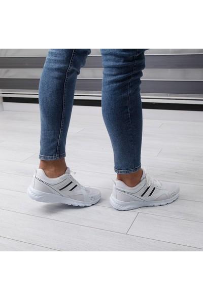 Scot Beyaz Erkek Spor Ayakkabı