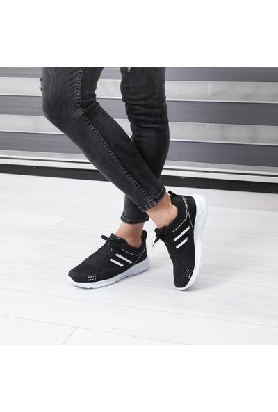 Scot Siyah Erkek Spor Ayakkabı