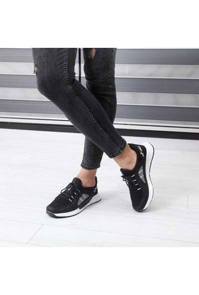 Wanderfull Siyah Erkek Spor Ayakkabı
