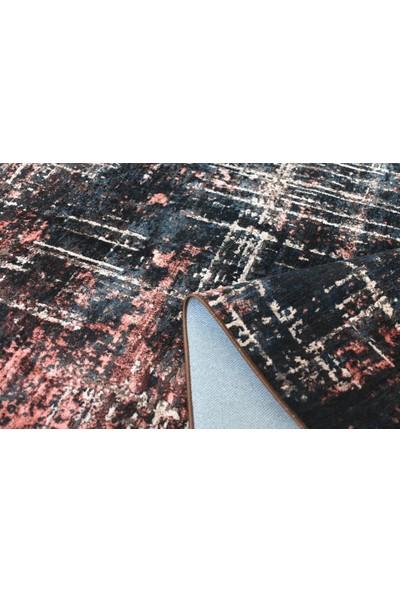 Halı Special Siyah Bakır Yıkanabilir Ince Kilim - HB1200 77 x 150 cm