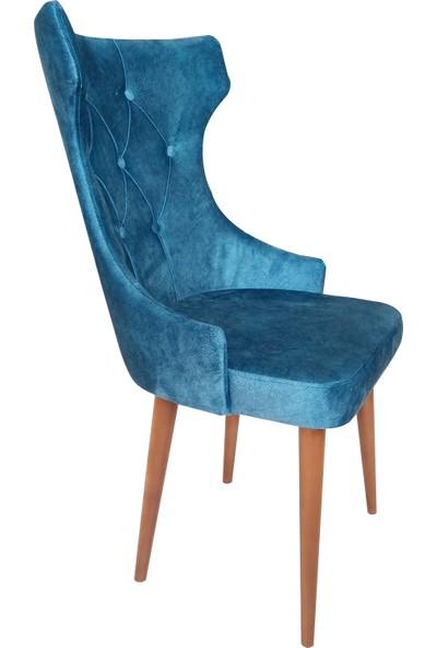 Perla Lotus Sandalye Mavi