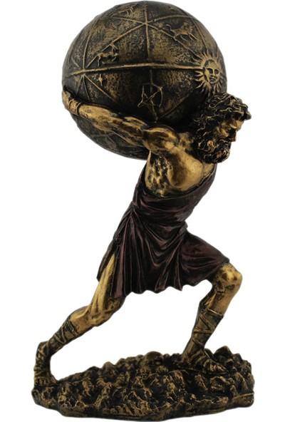 Hunga Atlas Heykeli Biblo Altın