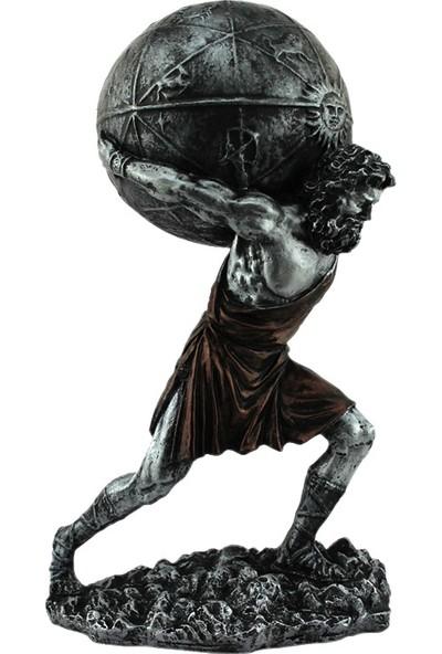 Hunga Atlas Heykeli Biblo Gümüş