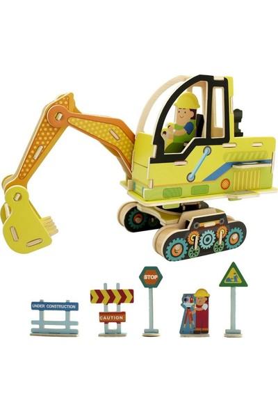 Robotime 3D Ahşap Puzzle Kepçe- VE302
