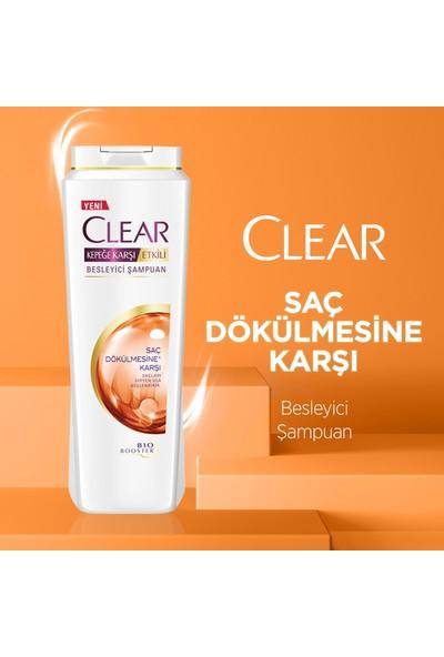 Clear Saç Dökülmesine Karşı Etkili Şampuan 600Ml