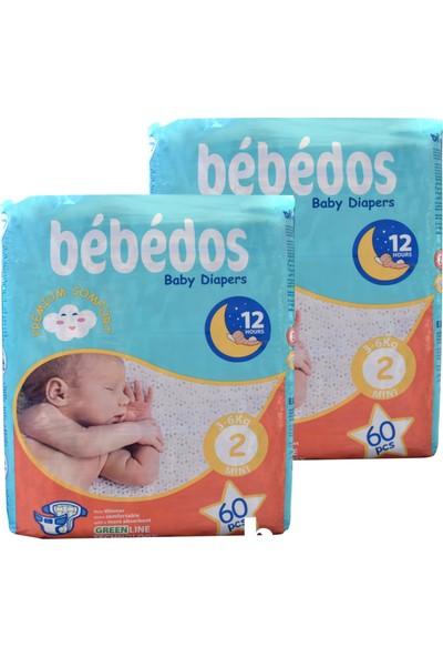 Bebedos 2'li Bebek Bezi 2 No Mini Boy 120'LI