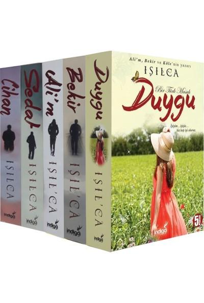 Işılca Bir Türk Masalı Serisi 5 Kitap Set (Duygu, Alim, Bekir, Sedat, Cihan) - Işıl Parlakyıldız (Işılca)