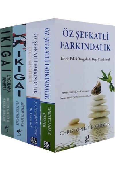 İkigai Ve Özşevkatli Farkındalık Seti 4 Kitap - Hector Garcia - Francesc Miralles - Christopher K. Germer