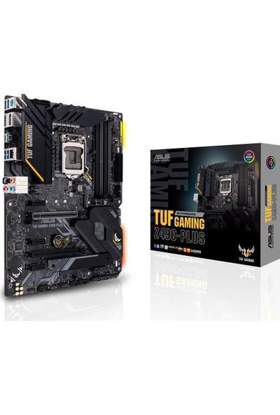 Asus TUF Gaming Z490-Plus Intel Z490 4600 MHz DDR4 1200 Pin ATX Anakart