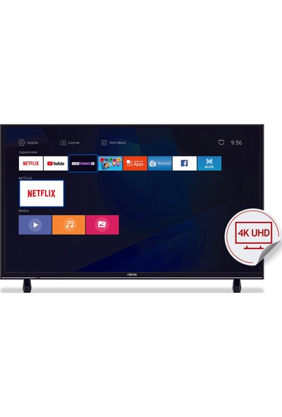 Altus AL49L 8960 5B 49'' 123 Ekran Uydu Alıclı 4K Ultra HD Smart LED TV