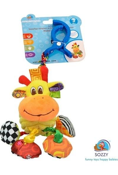Sozzy Toys Çıngıraklı Hayvanlar Maymun SZY157