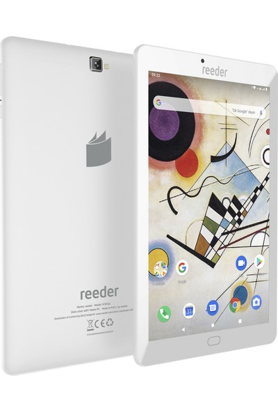 "Reeder M10 Go 8GB Wi-Fi IPS 10.1"" Tablet Beyaz"