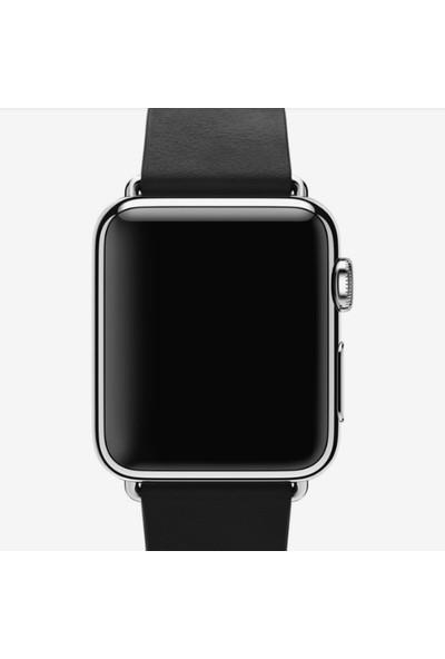 Apple Watch 38 mm - 40 mm Modern Tokalı Siyah Kayış - MJY82ZM/A