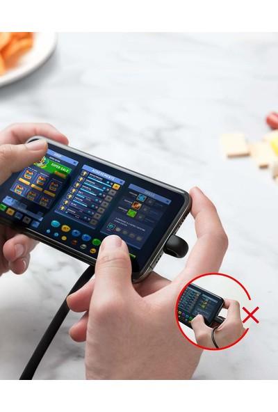 Anker Powerline Play MFI Lightning Oyuncu Şarj Kablosu (Apple Lisanslı) - 0.9m - A8712 - Siyah