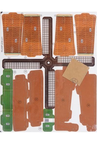 Robotime 3D Ahşap Puzzle Hollanda Yel Değirmeni - MJ208