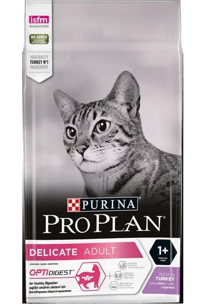 Pro Plan Delicate Hassas Ve Seçici Kediler için Hindili Kedi Maması 3 Kg