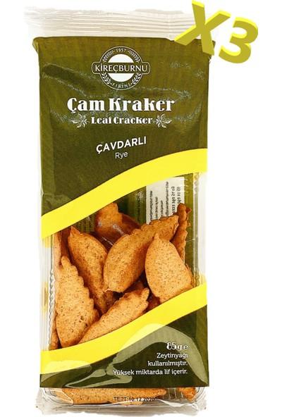Kireçburnu Fırını Çavdarlı Çam Kraker 85 gr x 3'lü