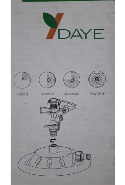 Krm Daye DY6012 Duraklamalı Tablalı Fiskiye 4 Fonksiyonlu