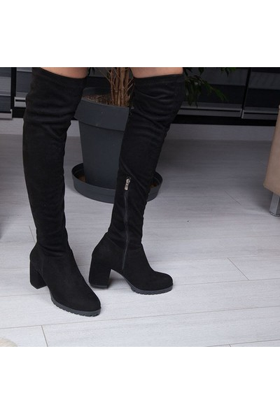 Conforcity Siyah Kadın Çizme