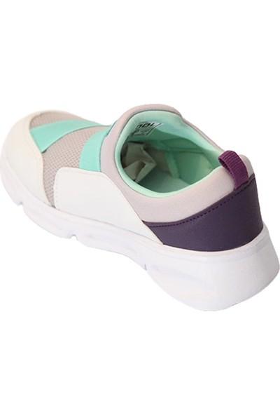 Cool Beyaz Çocuk Spor Ayakkabı