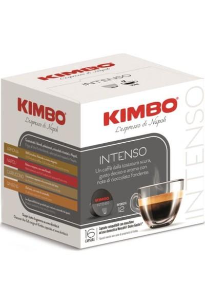 Caffe Kimbo Kimbo Intenso Dolce Gusto Kapsül Kahve 16'lık Kutuda