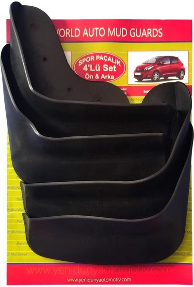 Yeni Dünya Opel Insignia 4'lü Paçalık-Çamurluk-Tozluk OPL0KX013