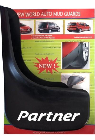 Yeni Dünya Peugeot Partner 2003-2008 4'lü Paçalık-Çamurluk-Tozluk PEU1UX019