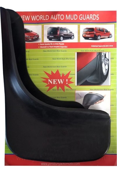 Yeni Dünya Nissan X-Trail 4'lü Paçalık-Çamurluk-Tozluk NIS0UX010