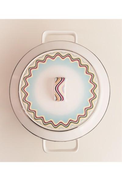 Richard Ginori Margherita Kapaklı Porselen Çorba Kabı 3,5 lt