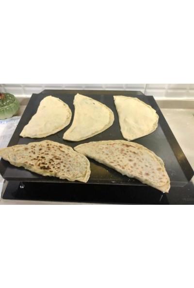 S37 Ocak Üstü Ekmek Yufka Gözleme Izgara Sacı 50 x 50 cm