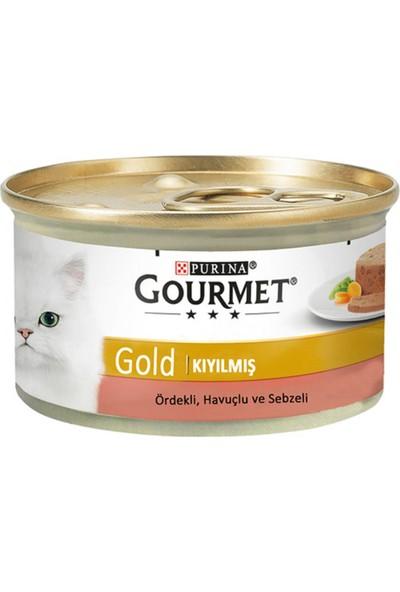 Purina Gourmet Gold Ördekli Havuçlu ve Ispanak 85 gr