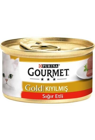 Purina Gourmet Gold Kıyılmış Sığır Eti 85 gr