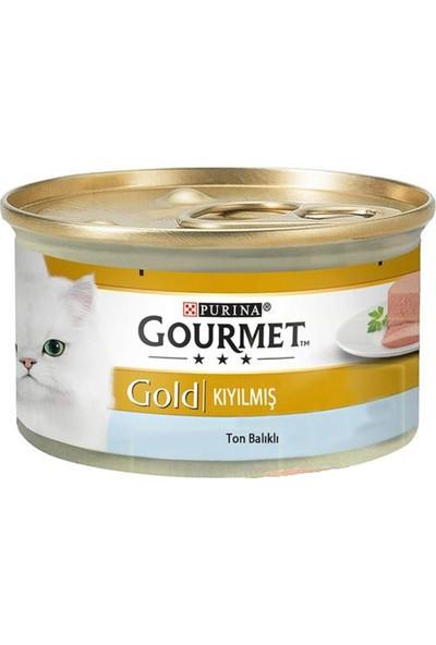 Purina Gourmet Gold Kıyılmış Ton Balığı 85 gr